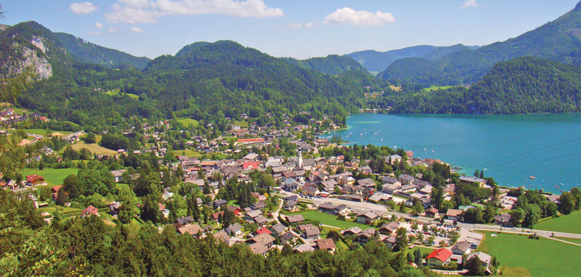 Top 10 Most Beautiful Towns In Austria, Charming Austria Towns, Image result for St. Gilgen